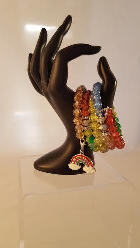 Rainbow connection bracelet