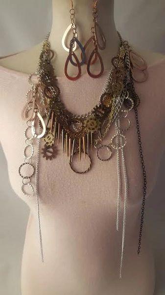 Heavy Metal Necklace Set