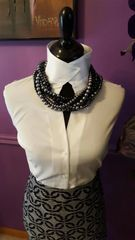 Not Your Grandmother's Pearls-Gray and Black
