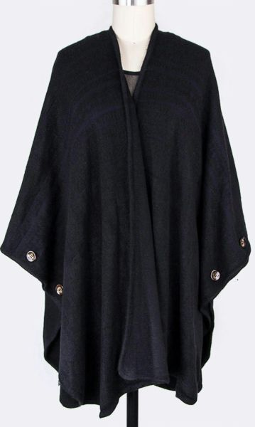Cozy Cardigan-Black