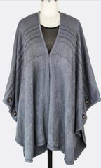 Cozy Cardigan-Gray