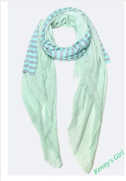 Wrapped In Mint Stripes
