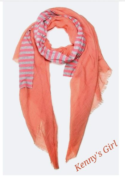 Wrapped in Coral Strips