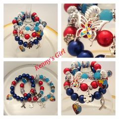 Autism Awarness Stretch Bracelets