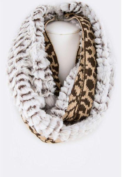 Plush In Leopard-Brown