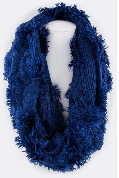 Plush In Royal Blue