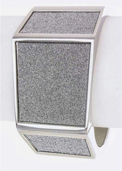 Glitter In Silver-Bracelet