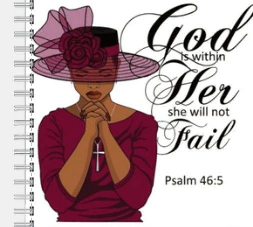 A Praying Woman-Burgundy