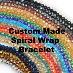 Custom Made Spiral Wrap Bracelet