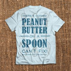 Peanut Butter On a Spoon - Chambray