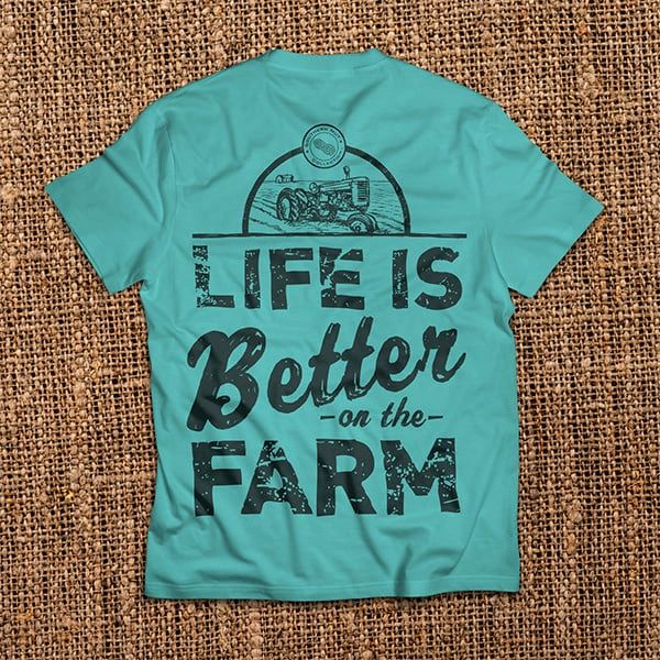 Life is Better On The Farm - Sapphire