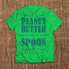 Peanut Butter On a Spoon - Green