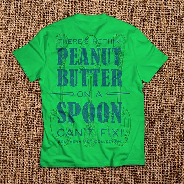 Peanut Butter On a Spoon - Green