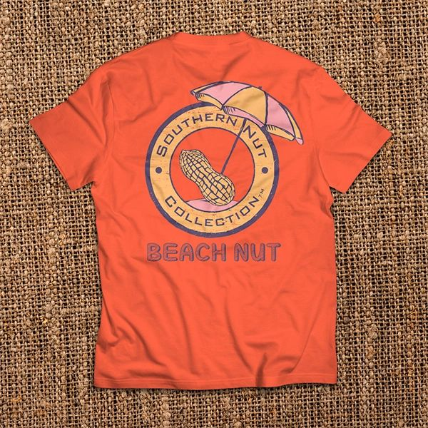 Beach Nut - Red Orange