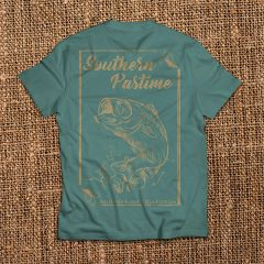 Southern Pastime Bass - Ice Blue