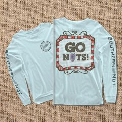 Go Nuts - Chambray - Long Sleeve
