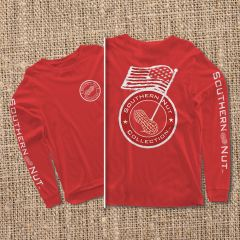 American Flag - Red - Long Sleeve