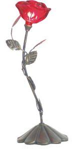 """13.3""""H Rose Lamp"""