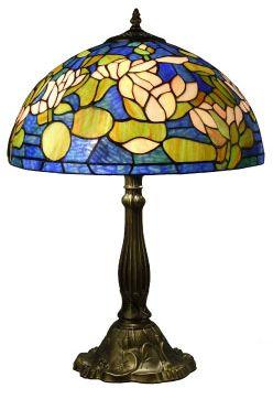 "16""W x 24.6""H Tiffany Style Lamp"