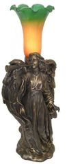 "17"" Angel/Trumpet Lamp"