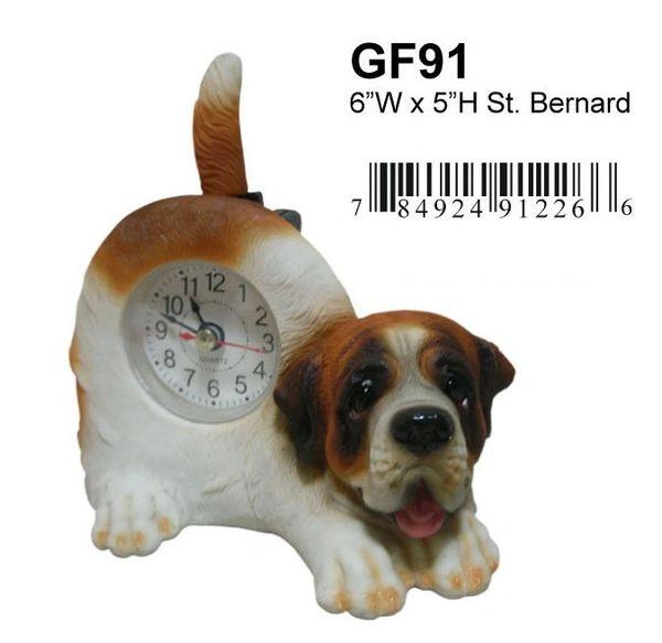 "ST. BERNARD Dog 6""W x 5""H"