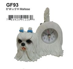 "Maltese Dog 6""W x 5""H"