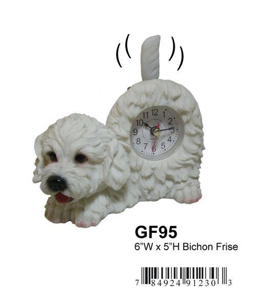 "Bichon Frise Dog 6""W x 5""H"
