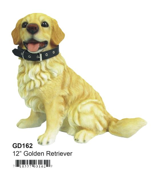 "GD162 12"" Poly Golden Retriever"