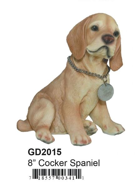 "GD2015 8"" Poly Cocker Spaniel"