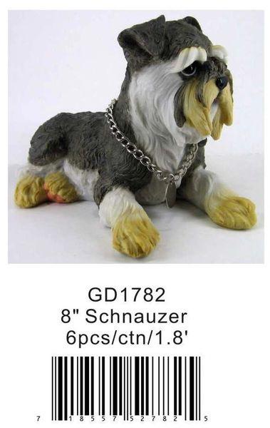 """GD1782 8"""" Schnauzer"""