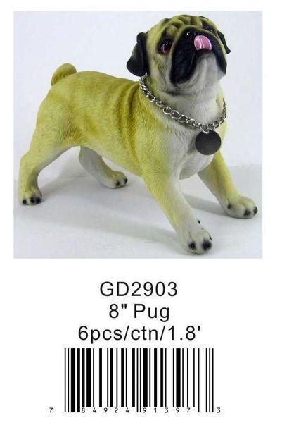 """GD2903 8"""" Pug"""