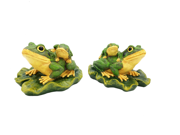 14006-Floating Frogs Figurine (Pair)