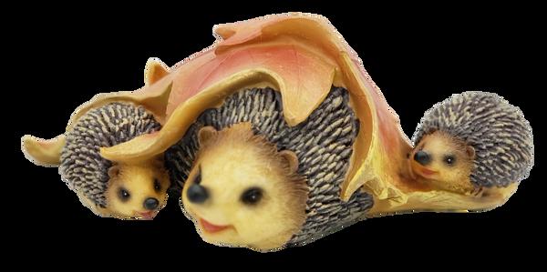 14024-Three Hedgehogs Figurine