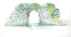 Original Watercolor - Arch 1