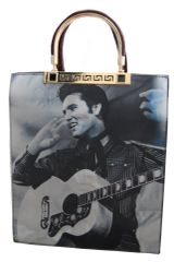 Elvis Presley 3 Photos Hologram Handbag / Shoulder bag