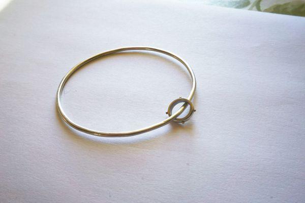Barnacled ring bangle