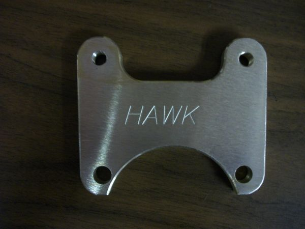 Caliper Bracket , rear , top .............31-425
