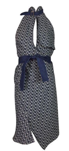 f89daf352b S/S 2000 Christian Dior Runway by John Galliano Monogram Dress | My Haute  Wardrobe