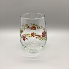 Pine Cone with Berries Tumbler