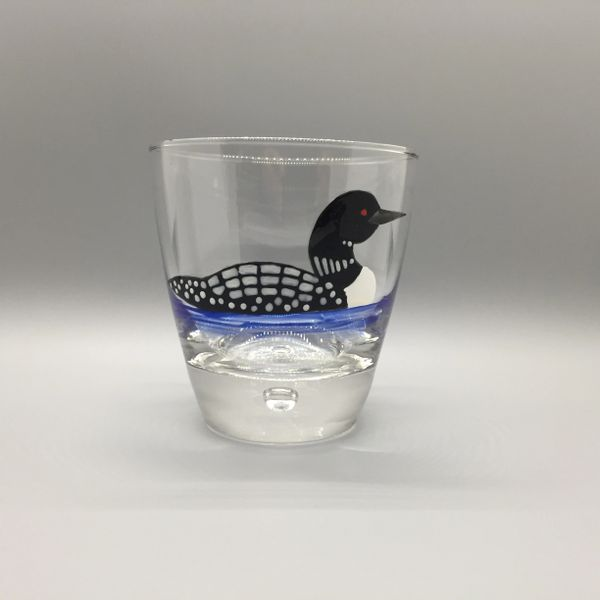 Loon Hand Painted Old Fashion