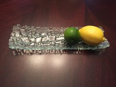Fused Glass Serving Tray