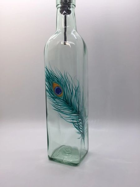 Peacock Single Feather Dispenser
