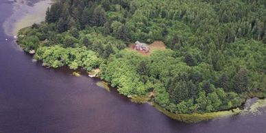 Eagle Cove 32 acre Cullaby lake front masterpiece.