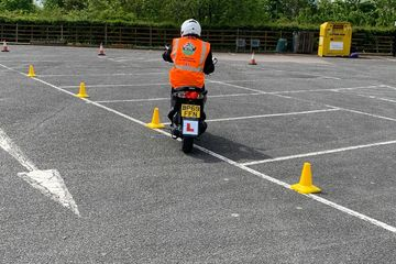 Elite Motorcycle Training - Direct Access (DAS) lesson.
