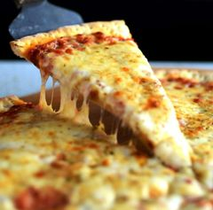 "Food: Large (14"") Cheese Pizza"