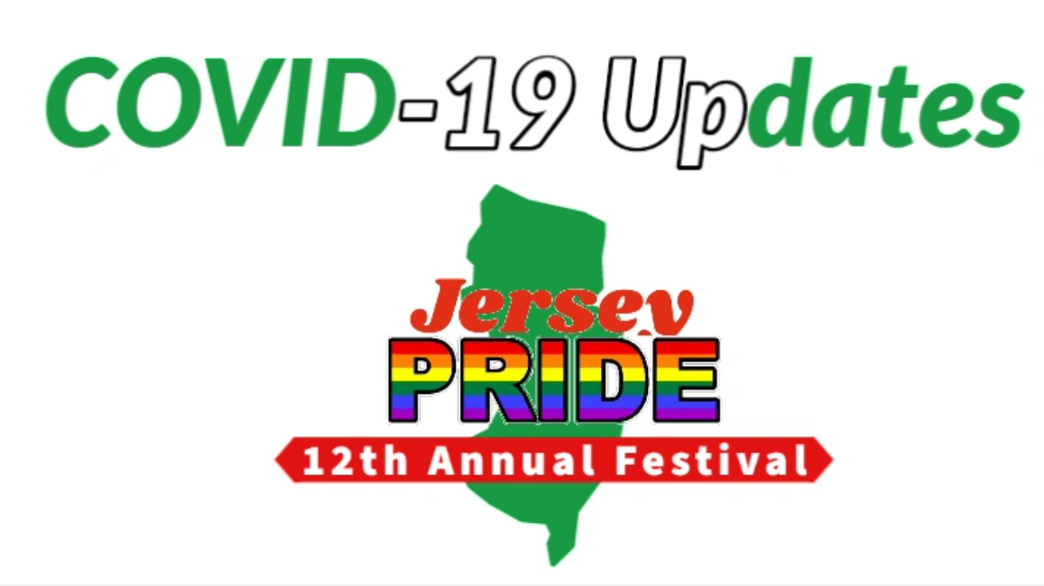 New Jersey LGBT Gay Pride COVID 19 update