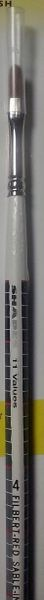 SHADES Proportional Grayscale Artist's Brush #4 Sable Filbert 11-Value