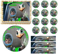 MILES FROM TOMORROWLAND Edible Cake Topper Image Frosting Sheet
