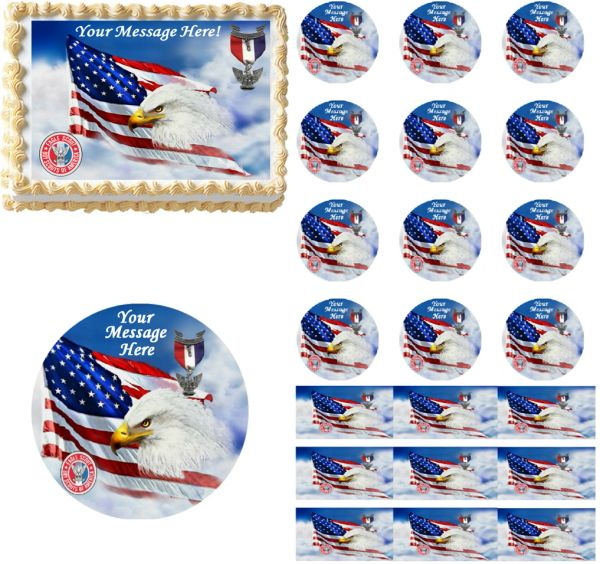 Eagle Scout Court of Honor Edible Cake Topper Image Cupcakes Eagle Scout Cake