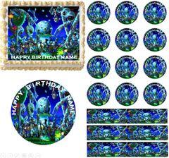 Terraria 2 Edible Cake Topper Image Cupcakes Terraria Cake Topper Edible Images